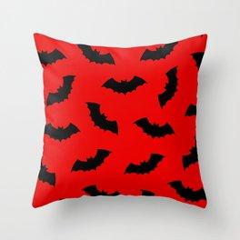 Vampire Bats Throw Pillow