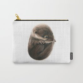 Shy Otter Carry-All Pouch