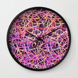Informel Art Abstract G74 Wall Clock