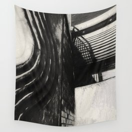 Conflicting ways Wall Tapestry