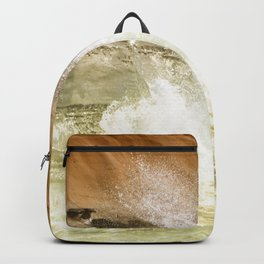 SPLASHING OCEAN WAVES 2 Backpack