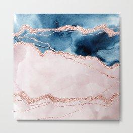 storm whipped sea I Metal Print
