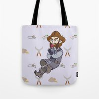 nori Tote Bags featuring Lollipop Time by BlueSparkle