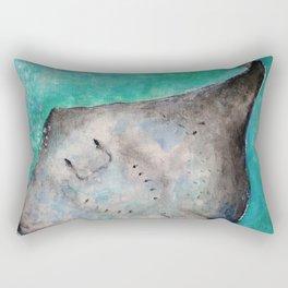 Happy Ray Rectangular Pillow