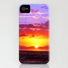 Sunset at Sea 2 - Hawaii Slim Case iPhone (4, 4s)