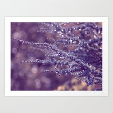 purple rain Art Print