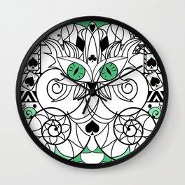Art swirl ornament Wall Clock