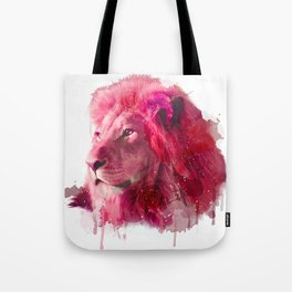 Rose Lion Tote Bag