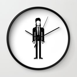 Willy DeVille Wall Clock