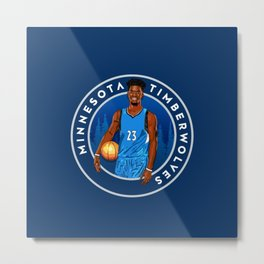 Jimmy Butler Minnesota Metal Print
