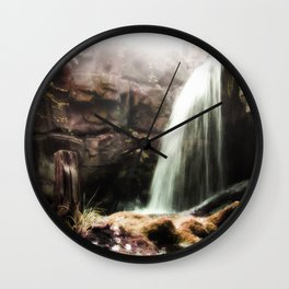 The Forgotten Cascades Wall Clock