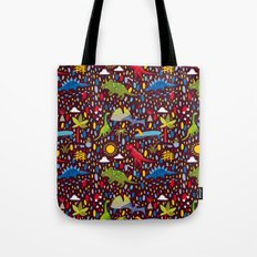 Dinosaur Repeat Tote Bag