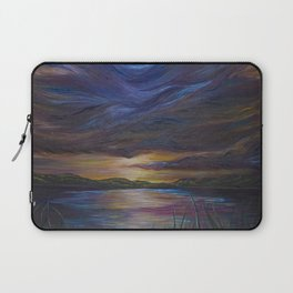 out of darkness comes light Laptop Sleeve