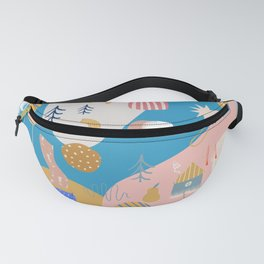 Abstract Patterns Fanny Pack