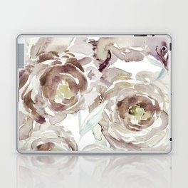 Earthy Painterly Floral Abstract Laptop & iPad Skin