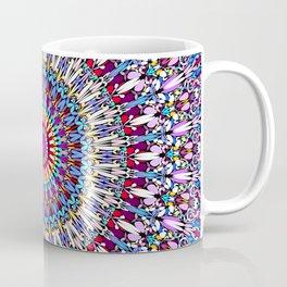 Fantasy Flower Garden Mandala Coffee Mug