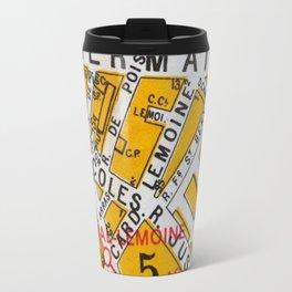Paris Streets 4 Travel Mug