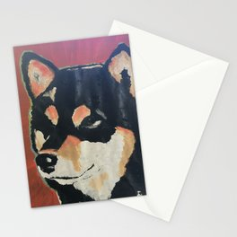 Kuma the Shiba Stationery Cards