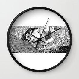 asc 794 - Les brûlants (Burning in devotion) Wall Clock