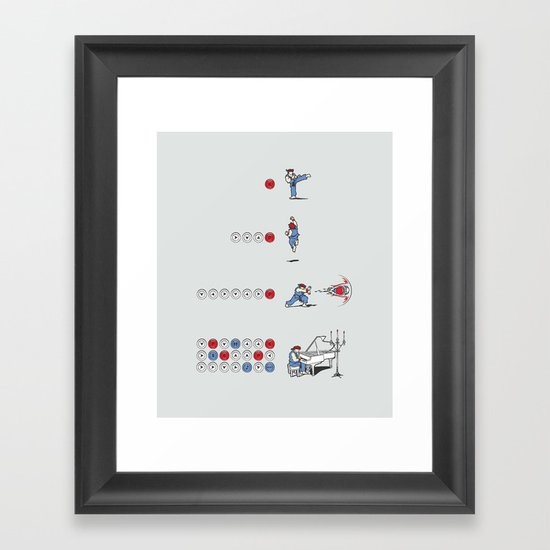 The Ultimate Combo Framed Art Print