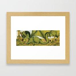 Dragon Clan Framed Art Print