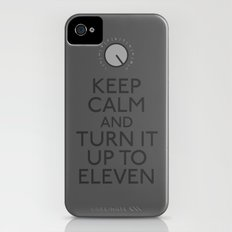 Turn it up to eleven iPhone (4, 4s) Slim Case