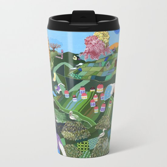 Sleeping Giants Metal Travel Mug