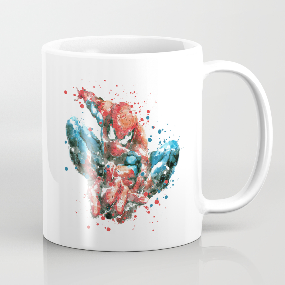 Spider-man Superhero Mug by Carmazoe MUG6330925