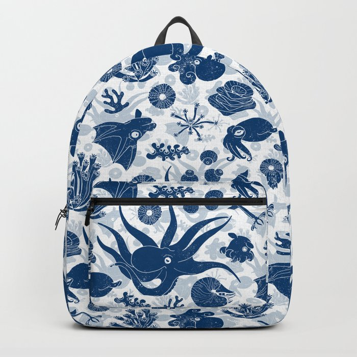 Cephalopods: Grunge Backpack