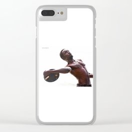 The disc launcher Clear iPhone Case