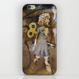 Wind Up iPhone Skin