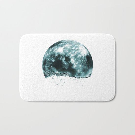 lunar water Bath Mat