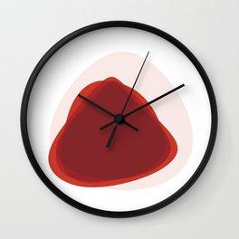 Pink Slips Wall Clock