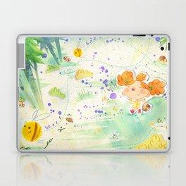 Mushroom hunt_panorama Laptop & iPad Skin
