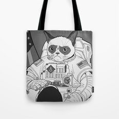 The Grumpiest Astronaut Tote Bag
