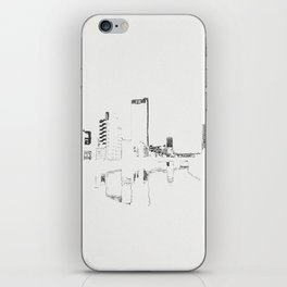 BROKEN CITY iPhone Skin