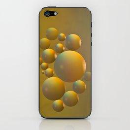Distant moon. iPhone Skin