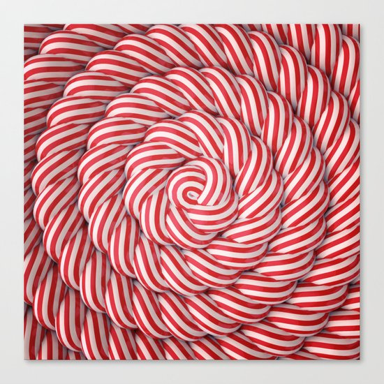 The Candy Way Canvas Print