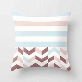 BLUE WEEKEND Throw Pillow