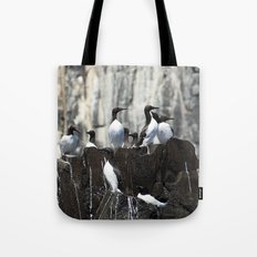 Guillemots Tote Bag