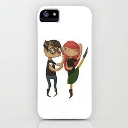 Let's dance iPhone Case