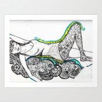 Body Paradise Art Print