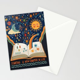 A new chapter Stationery Cards