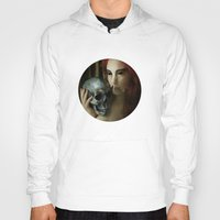 madonna Hoodies featuring Lamenting Madonna by Richard George Davis