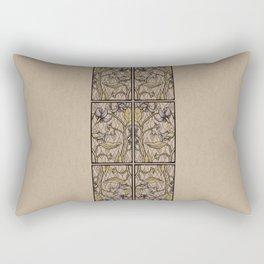 Belladonna Patterned Rectangular Pillow