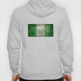 National flag of Nigeria, Vintage retro style Hoody