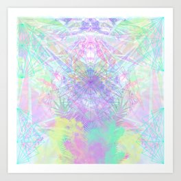 crystal vision Art Print