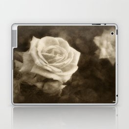 Pink Roses in Anzures 1 Antiqued Laptop & iPad Skin