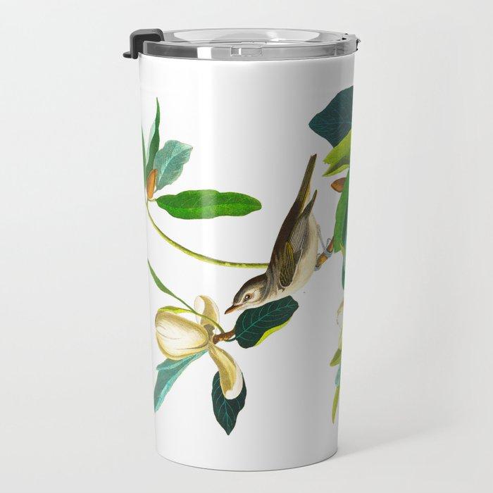 Warbling Flycatcher Bird Travel Mug
