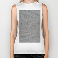 sparkle Biker Tanks featuring Sparkle Sand by Linda Tomei